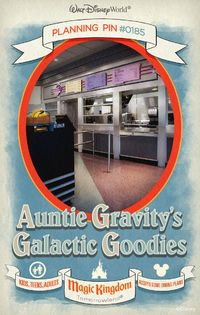 Walt Disney World Planning Pins: Auntie Gravity's Galactic Goodies
