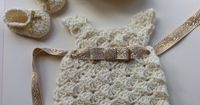 Vintage Downton Abbey Inspired Crochet Baby by PatternsByKrissy