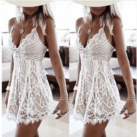 Womens Bodycon Cocktail Lace Dress Ladies Summer Sexy Lace Mini Party Dress $58.79 zhif.myshopify.com