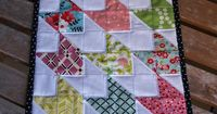 Doll Quilt Tutorial- If I get really smart at this sewing thing, I could make the same pattern at a different size.