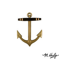 Michael Healy Designs Anchor Door Knocker - Brass- Standard $69.00
