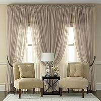 Not a fan of sheers but oh boy--this is so elegant.#repost By:Pinterest++ for iPad#