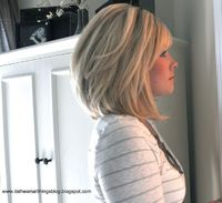 cute shoulder length hair--yes, but who's going to come to house to make it looks like this every morning??