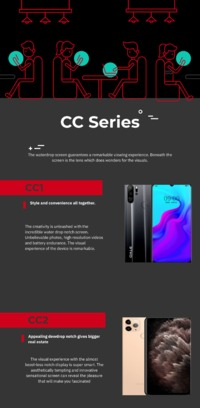 The amazing Oale Mobile CC Series is the best product line that offers diversity and magnificence in each mobile device.