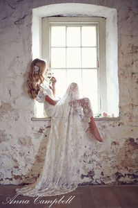 Well Dressed: Bridal Gown Collection by Anna Campbell - Forever Entwined   See More: http://www.thebridaldetective.com via