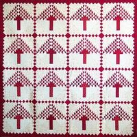 Redwood Forest Christmas Quilt -Quilts and Other Good Things