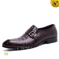 CWMALLS Mens Buckle Strap Loafers CW716204