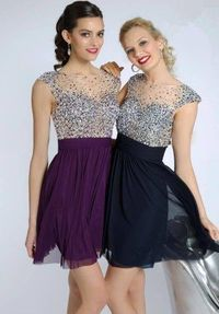 2014 Cheap Beaded Sheer High Neck Short Homecoming Dresses