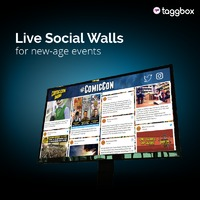 Set up a Social Media Wall for Event - Now set up a live social wall or digital signage at your event and display your brand's social media story to your guests. You can showcase live post of various social media platforms like Facebook, Twitter, In...