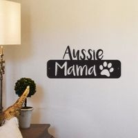 Aussie Mama Metal Wall Decor $47.99 �œ� Handcrafted in USA! �œ� Support American Artisans