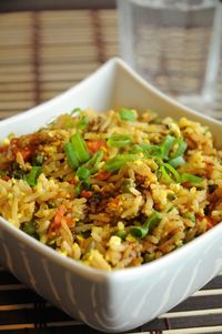 Best Ever Vegan Fried Rice with Scrambled Tofu - This dish turned out remarkable. Even my husband, who only groans like crazy when his food is MEGA GOOD, couldn't keep his mouth shut about it. �€œYou HAVE to blog this�€, he said. �&...