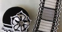 Flower �˜� Free Crochet Pattern �˜� (Beautiful hat and Scarf)