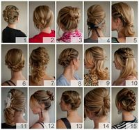 I like 10 and 6. Is it crazy to have two different hairstyles? One for the ceremony one for the reception?