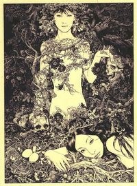 "Featured in our August 2013 issue, Russia-born, UK-based artist Vania Zouravliov. Straight from the magazine: ""Vania Zouravliov is an enigma,..."