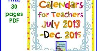 Free Editable Calendars- from