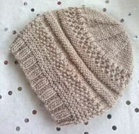 Simple sample hat pattern by Christine Roy