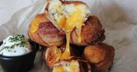 Mashed Potato Bacon Bombs - Seriously, For Real?Seriously, For Real?