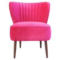 Valencia Club Chair in Pink