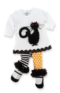 Adorable little girl Halloween Outfit
