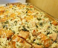 Primal Italian Chicken and Squash Casserole, Budget-friendly and quick and easy.