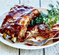 """Melt in Your Mouth Barbecue Ribs: """"These killer ribs were easy to prepare and cook. I can't wait to have people over for a barbecue this summer. I will now be the rib king."""" - jimmy stew"""