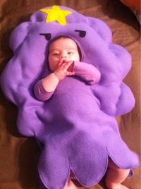 Adventure Time - Cute Lumpy space princess baby costume. Dude im gonna get this when i have a baby