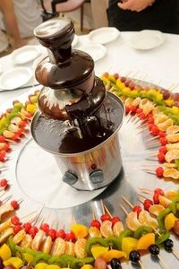 Even the simplest of pleasures are better when shared, which is part of the allure of chocolate fountains. Gathering around the fountain with friends and family