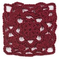 """January, part of Crochet's Afghan Block of the Month. Get the download here: http://www.crochetmagazine.com/crochet block.php?id=11 """"Like"""" the Crochet Facebook page so you don't miss a single monthly installment: https://www.facebook.com/C..."""