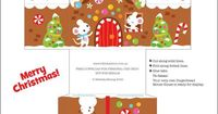 We Love to Illustrate: freebie gingerbread house printable! adorable!