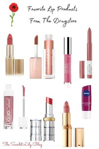 Best Lip Products From The Drugstore