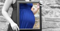 framing the belly | maternity photo