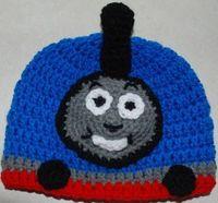 Amy's Crochet Creative Creations: Crochet Thomas the Train Hat