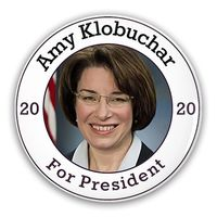 Pin-Back Buttons Amy Klobuchar For President 2020 $10.50