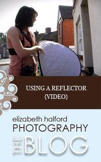 A quickie video showing how to use a reflector in your photography.