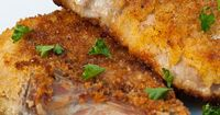Do you ever have trouble with dry, tough pork chops? Panko Crusted Pork Chops is a simple recipe to guarantee you great tasting pork chops that are tender and j