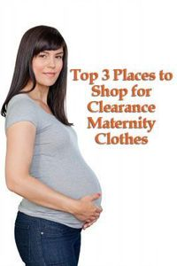 Clearance Maternity Clothes