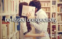 Be Kissed Unexpectedly: Check