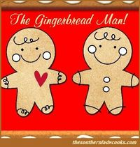 Wonderful old-fashioned poem about a gingerbread man that jumped out of the pan. Make it a tradition to read during the holidays to children.