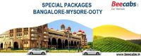 Special Packages in Bangalore, Mysore, Ooty - Beecabs Online Cab Booking