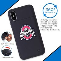 Ohio State Buckeyes iPhone X Xs Wireless Battery Charging Phone Case $49.99