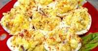 Low Carb Diet Recipes - Deviled Eggs Delight (Atkins Friendly - Low Carb) Recipe #ketogenicdiet #keto #lowcarbs #lchf