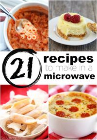 21 Recipes You Can Make in a Microwave