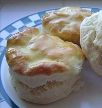 Cracker Barrel Old Country Store Biscuits - I like these because they are so quick and easy. Even though you use Bisquick, they don't come out tasting like Bisquick or like baking powder. I always have to double the batch to make sure I get some!