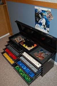 Now this is how to organize lego's!!!!