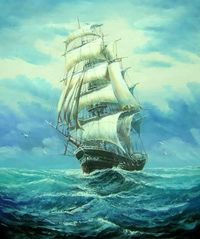 "Ship ~ Most Famous Paintings Ever | the most Famous Paintings ever '�'�"" An Inspiration to Other Painters ..."