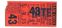 """Designspiration �€"""" a time to get: Vintage Baseball Tickets"""