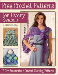 Anytime is a good time to crochet! Whether it's spring or summer, winter or fall, this is the perfect season for crocheting. You'll find a great project in this