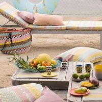 Color Rock Pop Table Linens by Le Jacquard Français $190.00