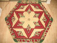 ~ Quilted Christmas Tree Skirt ~