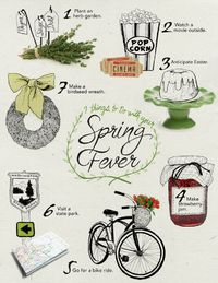 Make the most of #spring with this fun bucket list!